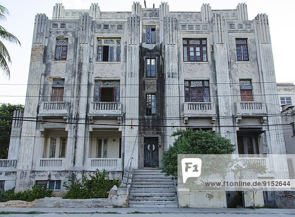 Havanna  Hauptstadt  Gebäude  Kunst  Apartment  Kuba  alt