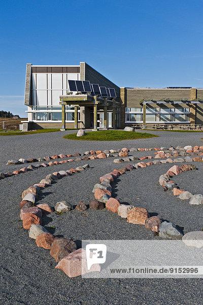 UNESCO-Welterbe  Bucht  Fossil  Nova Scotia  Neuschottland