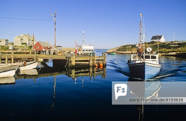 Peggys Cove  Nova Scotia  Kanada  Nova Scotia  Neuschottland