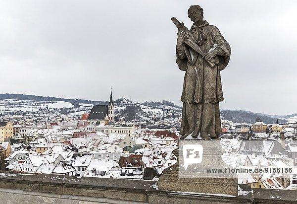 Tschechische Republik Tschechien Cesky Krumlov