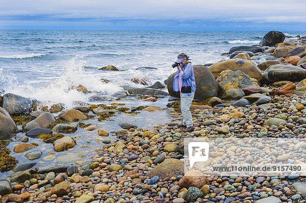 Nationalpark Fotografie Ozean Tourist Atlantischer Ozean Atlantik Neufundland Kanada
