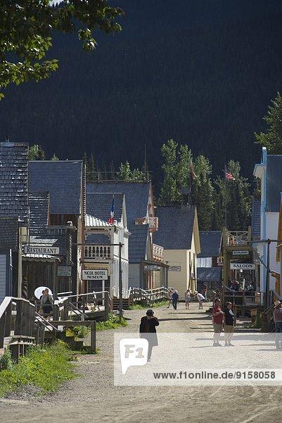 Hektik  Druck  hektisch  Geschichte  Gold  British Columbia  Kanada  Hauptstraße