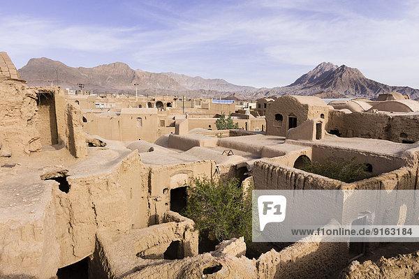 Ruins of the Safavid village of Kharanaq  Meybod  Yazd  Iran