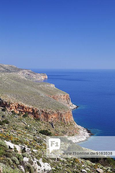 Küste Kreta Griechenland