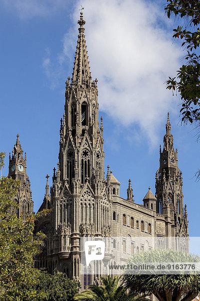 Church of San Juan Bautista  Arucas  Gran Canaria  Canary Islands  Spain