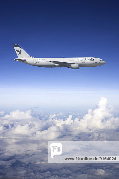 Iran Air Airbus A300 in flight