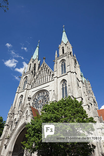 Germany  Bavaria  Munich  St Paul's Church