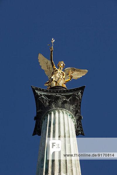 Germany  Bavaria  Munich  Angel of Peace monument