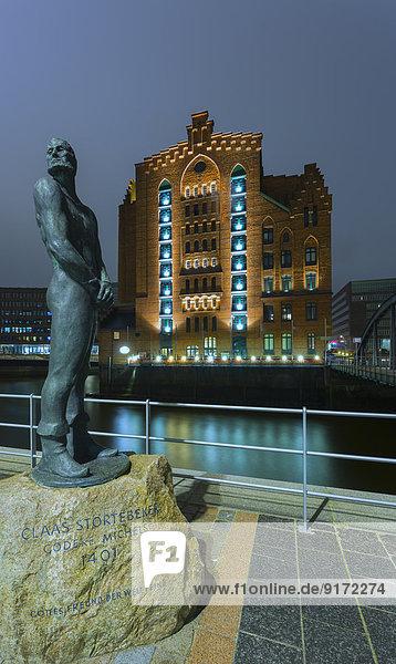 Germany  Hamburg  Sortebeker monument and Maritime museum Germany, Hamburg, Sortebeker monument and Maritime museum