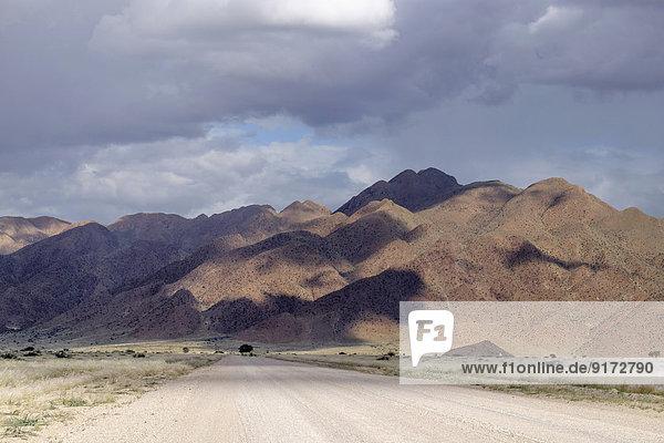 Africa  Namibia  Naukluft Mountains  Gravel track