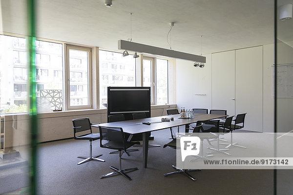 Board room of modern office