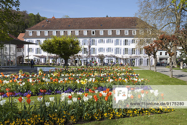 Deutschland  Baden-Württemberg  Überlingen  Garten und Bad-Hotel
