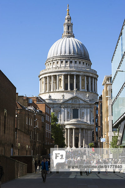 United Kingdom  England  London  City of London  St Paul's Cathedral