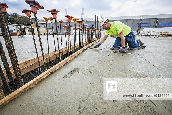 bauen Ende arbeiten Beton