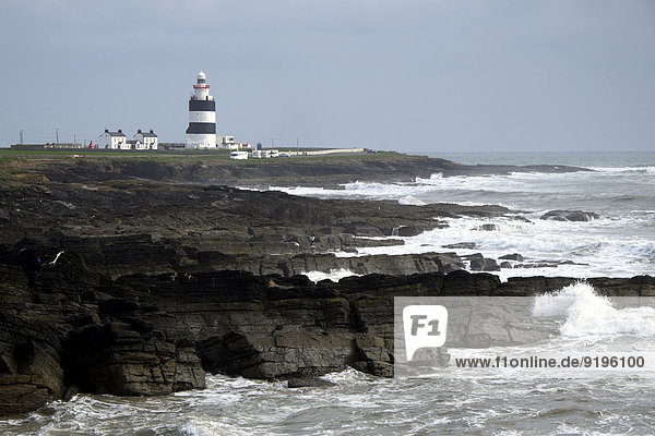 Hook Lighthouse  Hook Head  County Wexford  Irland
