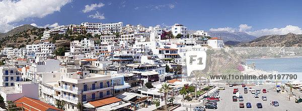 Küste Dorf Kreta Griechenland