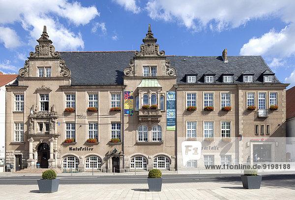 Neues Rathaus  Eberswalde  Brandenburg  Deutschland