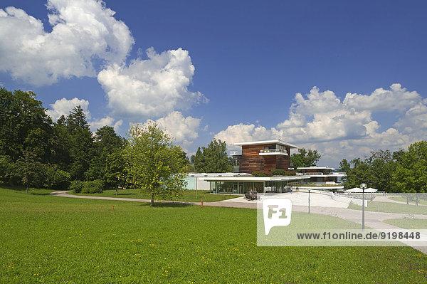 Buchheim-Museum mit Parkanlage  Bernried am Starnberger See  Oberbayern  Bayern  Deutschland