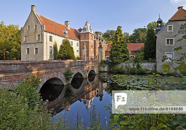 Schloss Senden  Senden  Münsterland  Nordrhein-Westfalen  Deutschland