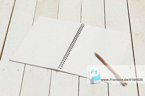 Bleistift Notizblock Notebook