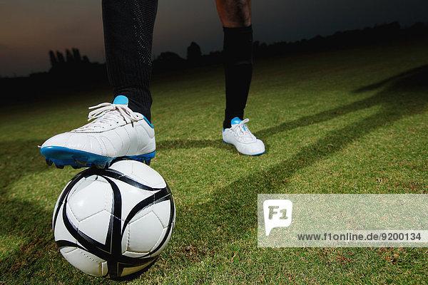 Ende Spiel Fußball Ball Spielzeug Football