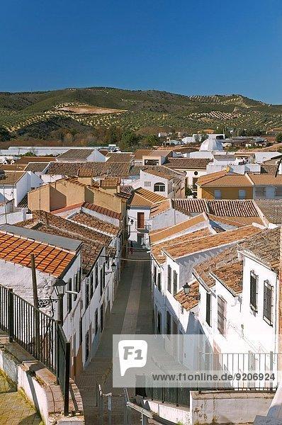 Urban view  Badolatosa  Seville-province  Region of Andalusia  Spain  Europe.