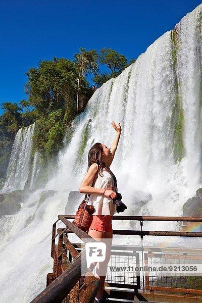 Nationalpark junge Frau junge Frauen