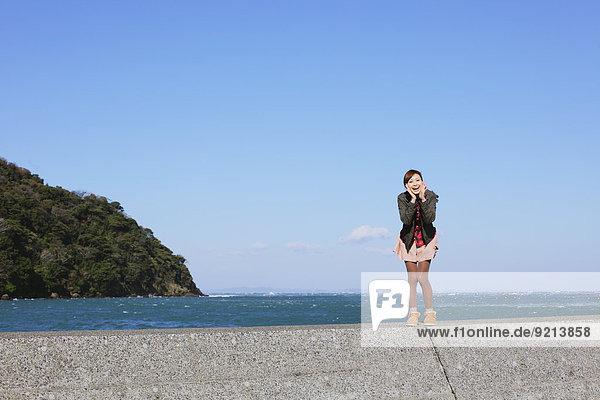 nahe Frau Meer japanisch
