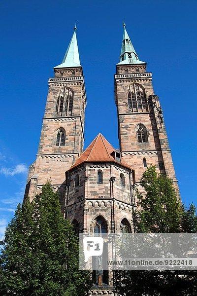 St Sebald´s Church  Nuremberg  Germany