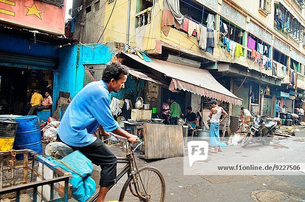 Städtisches Motiv Städtische Motive Straßenszene Straßenszene Indien
