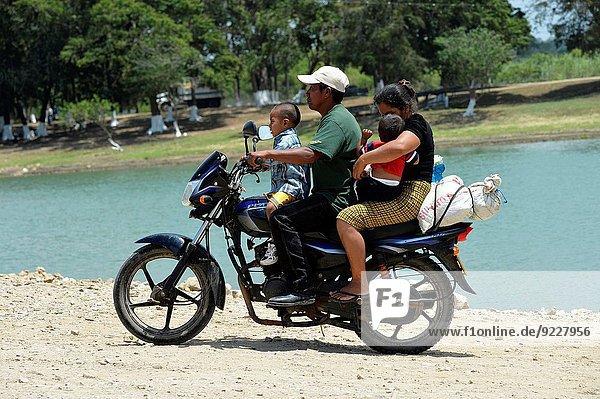 Mittelamerika Motorrad Guatemala