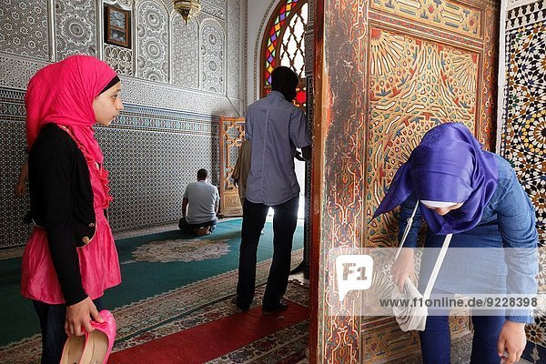mosque of sidi ahmad al Tijani. fes.