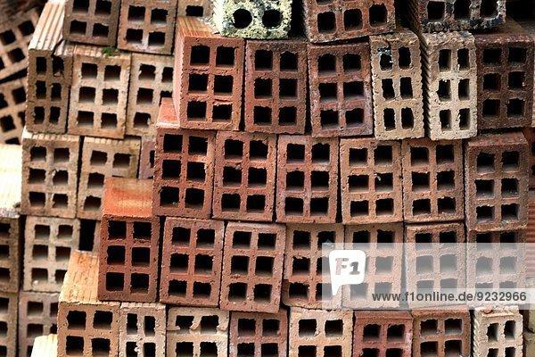 bauen Ziegelstein Andalusien Rosario Spanien