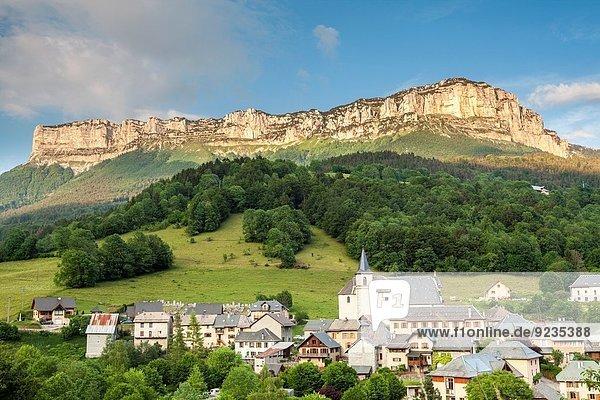 Frankreich Dorf Epernay Savoie