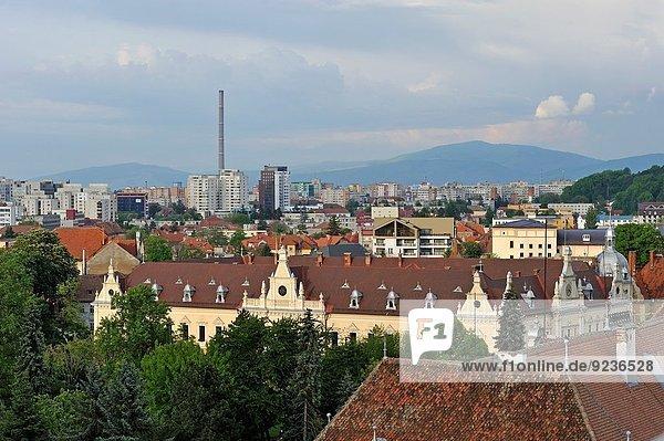 Halle Stadt Hintergrund neu Rumänien