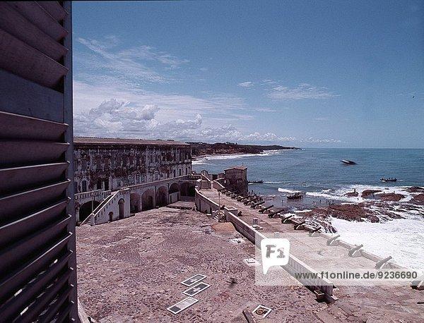 Cape Coast Castle  Britain´s main fort on the Gold Coast