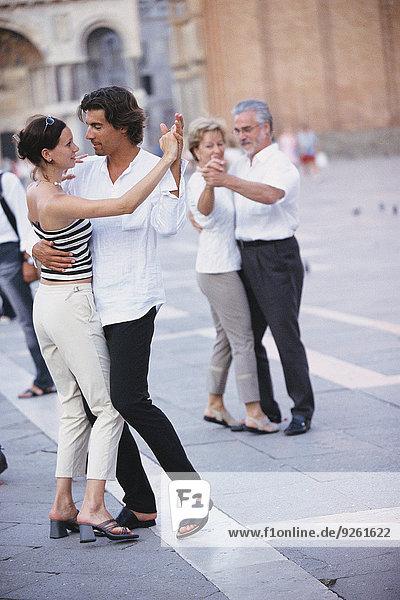 tanzen Stadt Quadrat Quadrate quadratisch quadratisches quadratischer