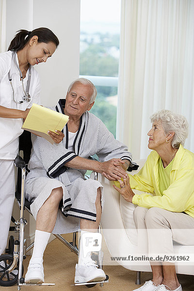 Senior Senioren sprechen