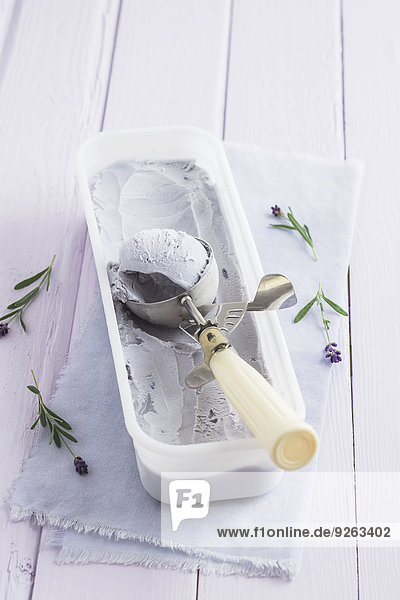 Lavender icecream
