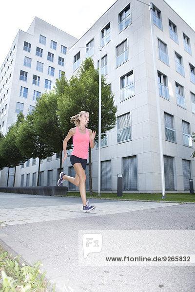 Germany  Munich  Female jogger