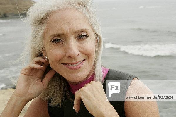 Portrait Frau reifer Erwachsene reife Erwachsene