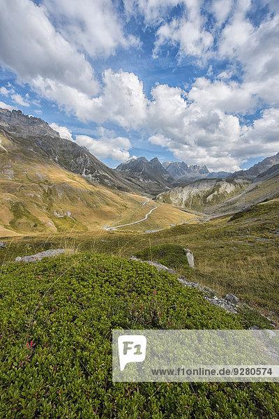 Gebirgspass Col du Galibier  Département Savoie  Frankreich