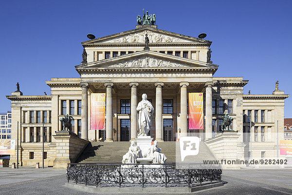 Konzerthaus am Gendarmenmarkt  Berlin  Deutschland