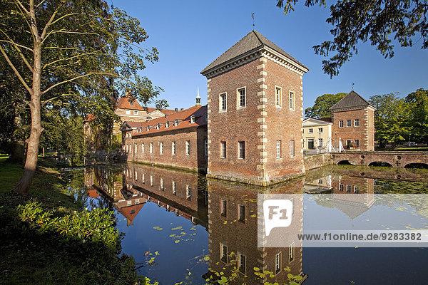 Schloss Velen  Wasserschloss  Velen  Münsterland  Nordrhein-Westfalen  Deutschland