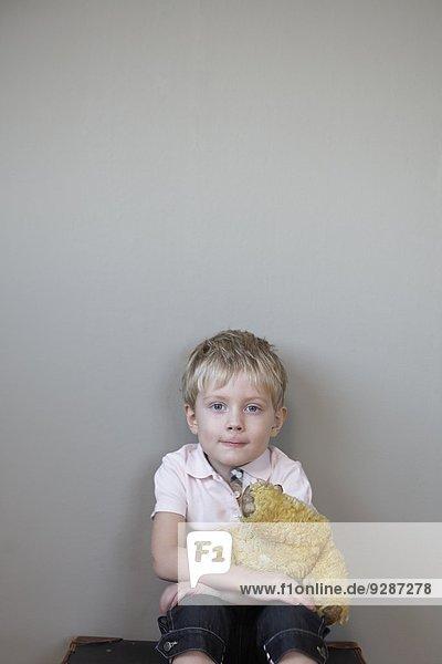 Junge - Person Teddy Teddybär