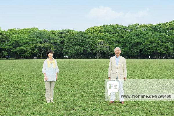Senior Senioren Erwachsener japanisch