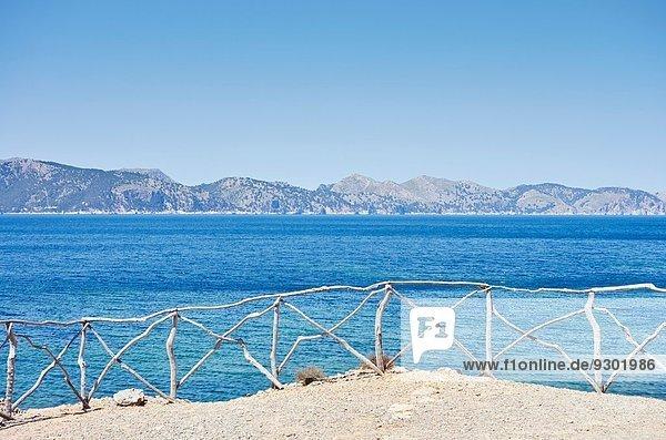 Küstenblick  Mallorca  Spanien