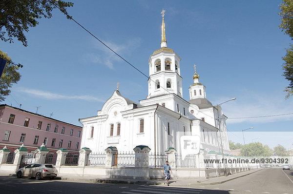 Orthodoxe Harlampios-Kirche  Altstadt  Irkutsk  Sibirien  Russland