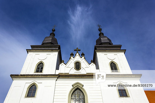 St. Prokop-Basilika  UNESCO Weltkulturerbe  T?ebí?  Region Hochland  Tschechien