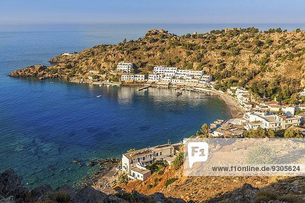klein Meer Dorf erreichbar Kreta Griechenland